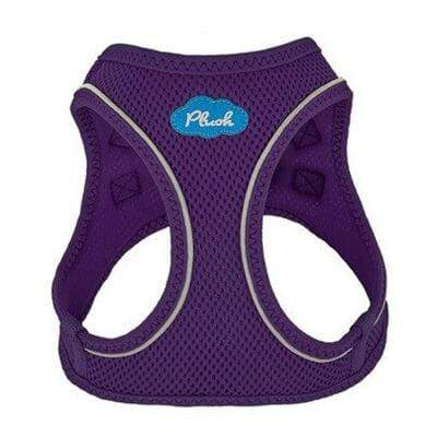 Plush Step-in Dog Harness - Purple