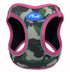 Plush Pink Camo Step-in dog harness
