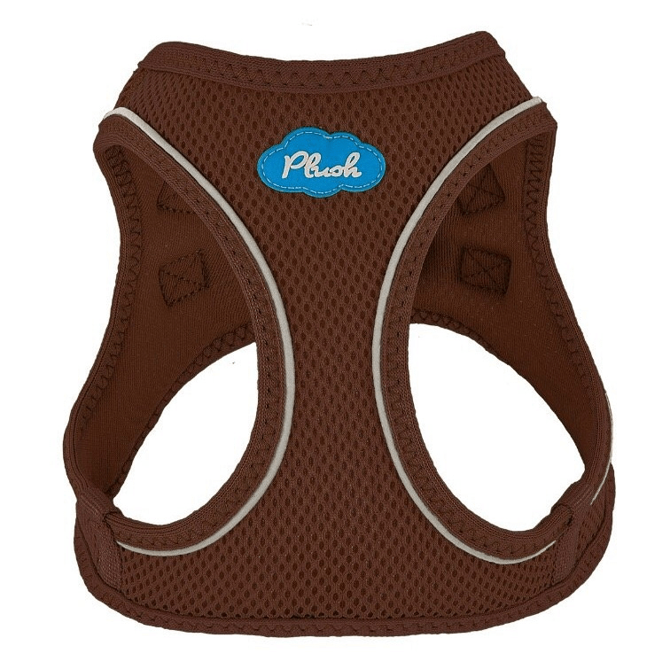 Plush Step-in Dog Harness - Toffee