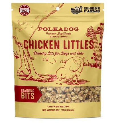 Polkadog Bakery Chicken Littles Dog Treats - Front