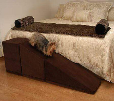 "Royal Ramps Pet Ramp - 14"" - Chocolate Brown"