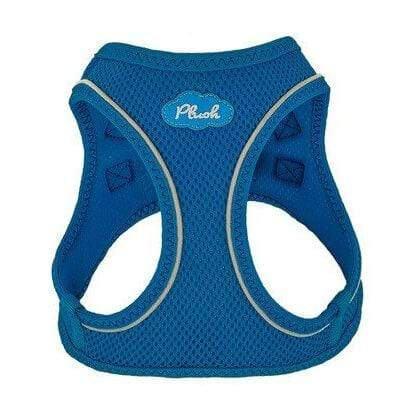Plush Step-in Dog Harness - Lapis Blue
