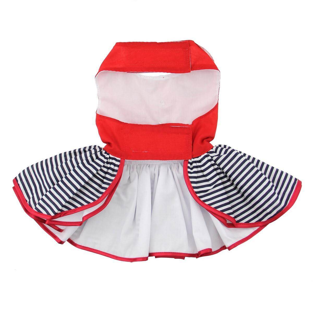 sailor girl dog dress - belly