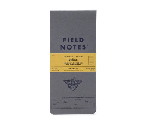 Field Notes - Byline Edition