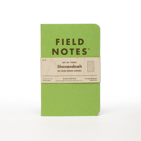 Field Notes - Shenandoah Edition