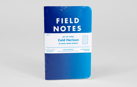 Field Notes - Cold Horizon Edition