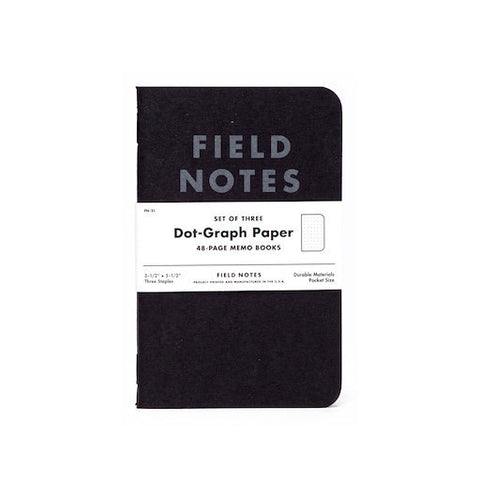 Field Notes - Pitch Black