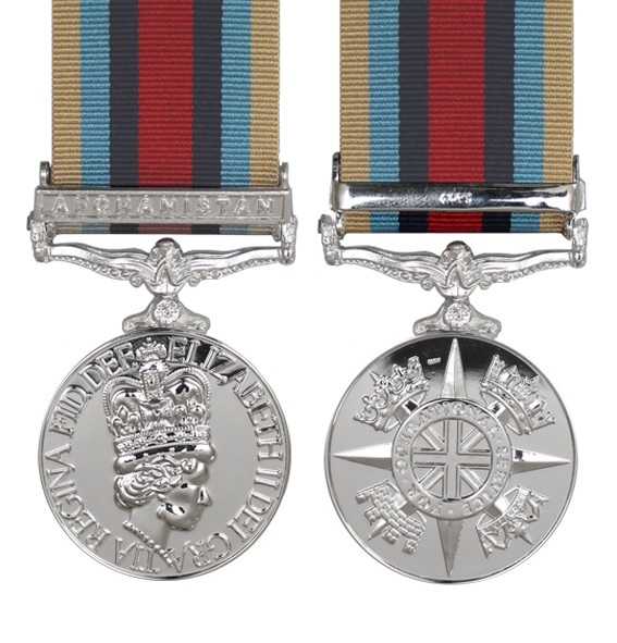 Afghanistan Service Medals