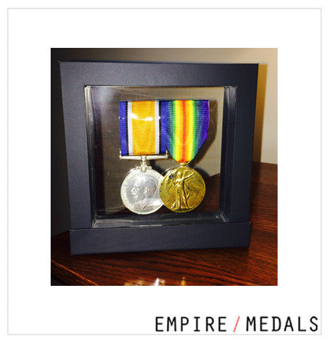 Freestanding Medal Display Frames