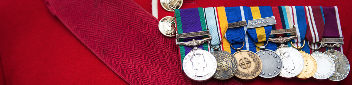 Medals are professionally mounted on a brooch bar using a variety of  embroidery techniques. Court Mounted medals have a stiff backing board with  the ...