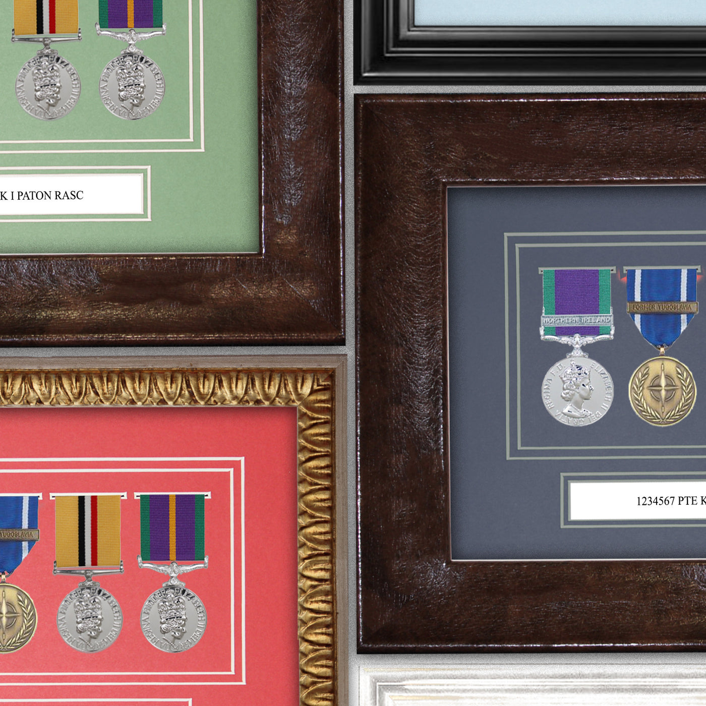 Medal Frames & Artifact Framing
