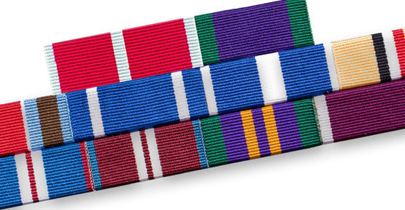 Medal Ribbon Bar for 10 Medal Ribbons