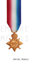1914-15 Star Miniature Medal