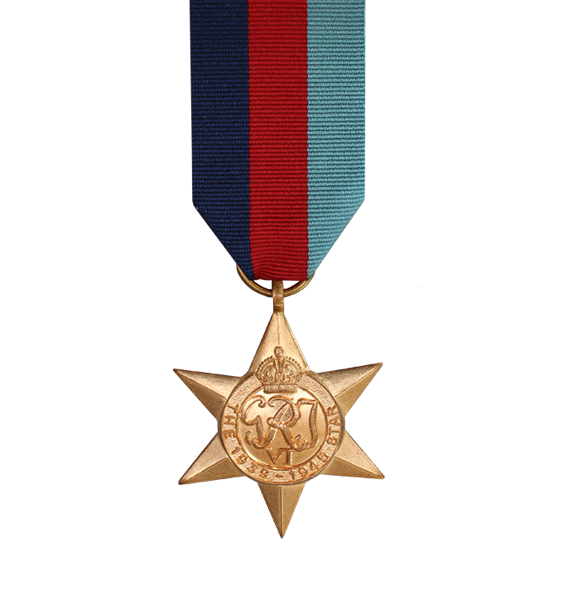 WW2 1939-45 Star Medal and Ribbon
