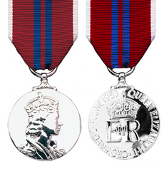 The 1953 Queens Coronation Medal