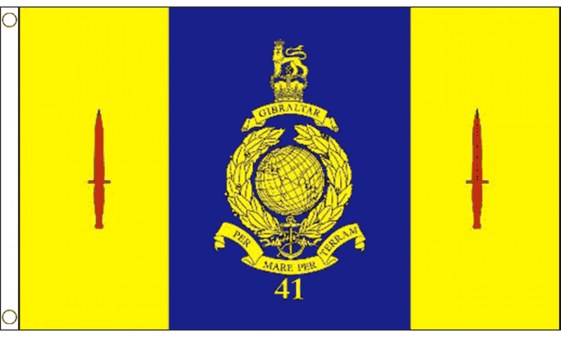 41 Commando Royal Marines Flag