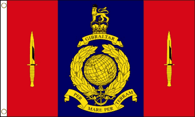 45 Commando Royal Marines Flag