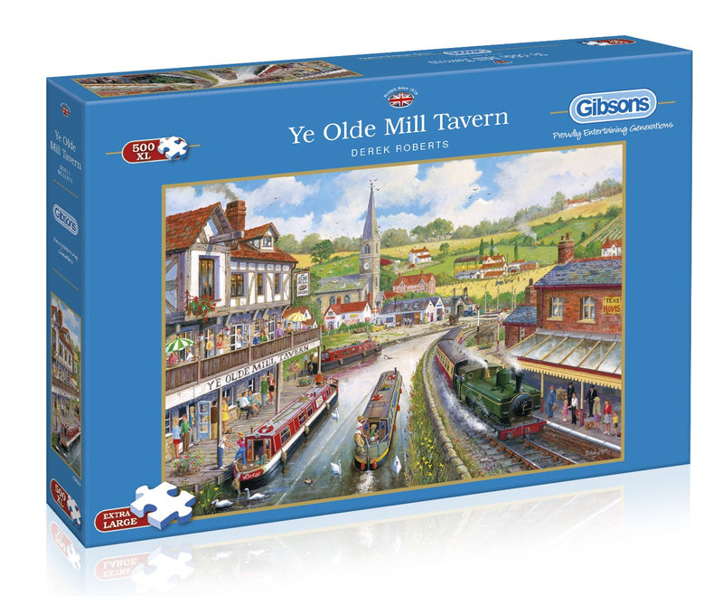 YE OLDE MILL TAVERN 1000 PIECE JIGSAW PUZZLE