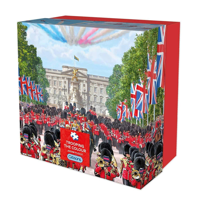 TROOPING THE COLOUR 500 PIECE JIGSAW PUZZLE 500 PIECE PUZZLE
