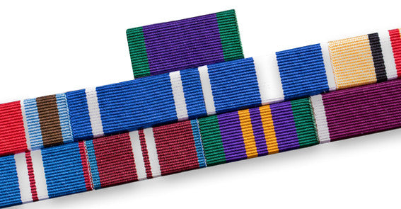 Medal Ribbon Bar for 9 Medal Ribbons