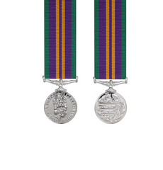 Accumulated Campaign Service Post 2011 Miniature Medal