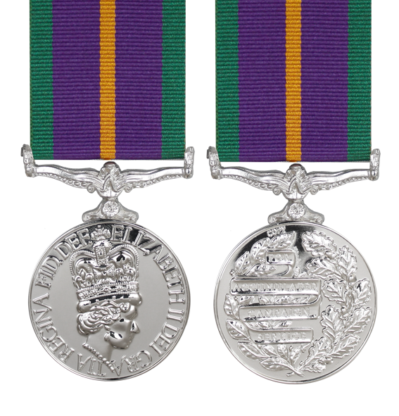Accumulated Campaign Service Pre 2011 Medal