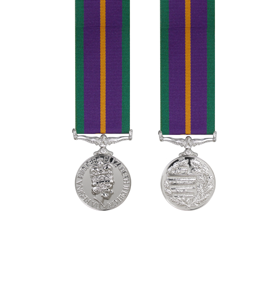 Accumulated Campaign Service Pre 2011 Miniature Medal