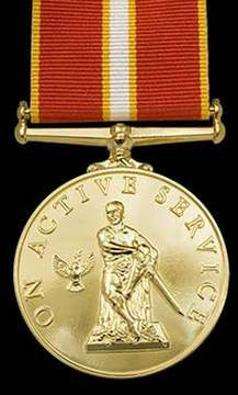 Active Service Commemorative Medal