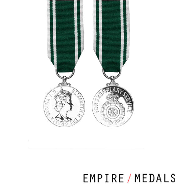 Ambulance Service Long Service Miniature Medal
