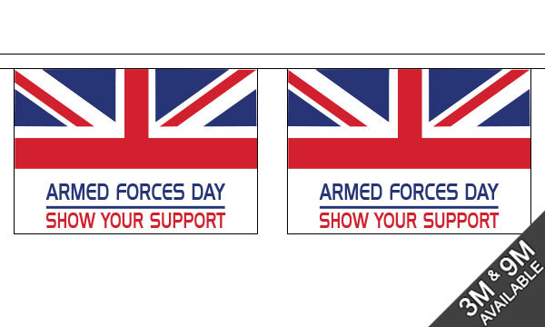 Armed Forces Day Bunting