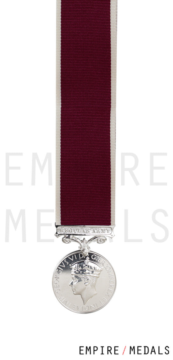 Army Long Service & Good Conduct Miniature Medal GVI