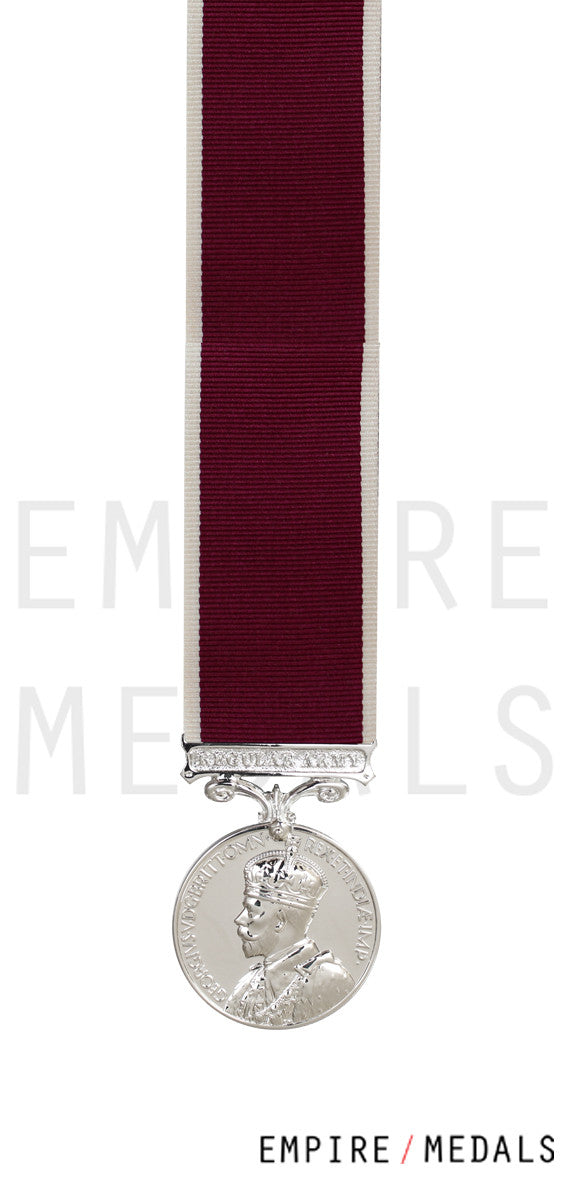Army Long Service & Good Conduct Miniature Medal GV