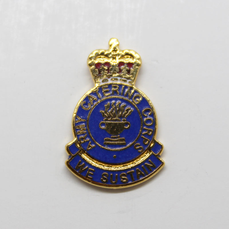 Army Catering Corps Lapel Pin