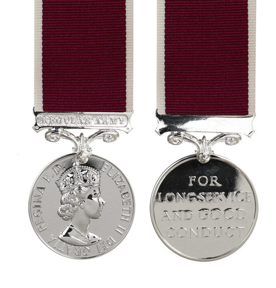 Army Long Service & Good Conduct Medal EIIR