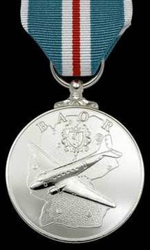 BAOR Commemorative Medal