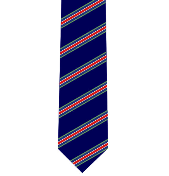 British Forces Defence Medal Polyester Tie