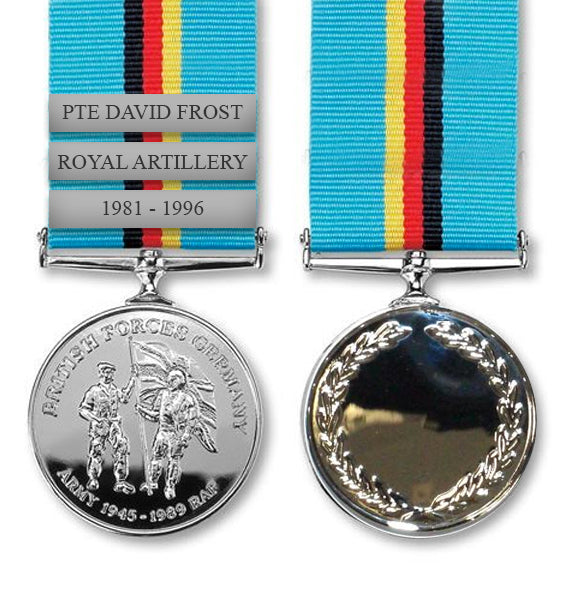 British Forces Germany Commemorative Medal