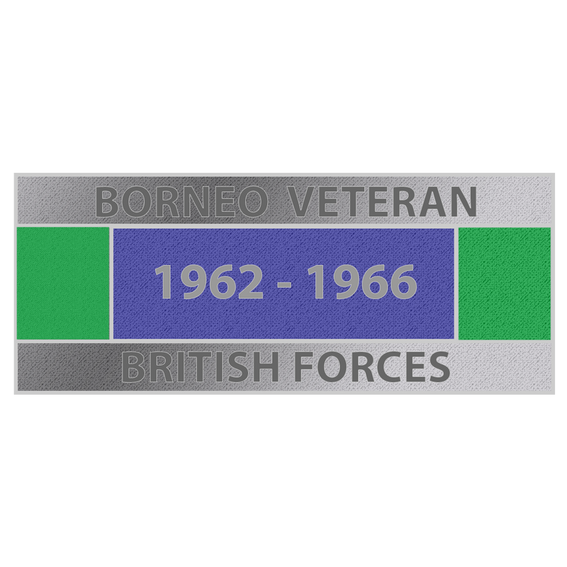 Borneo Veteran Lapel Pin