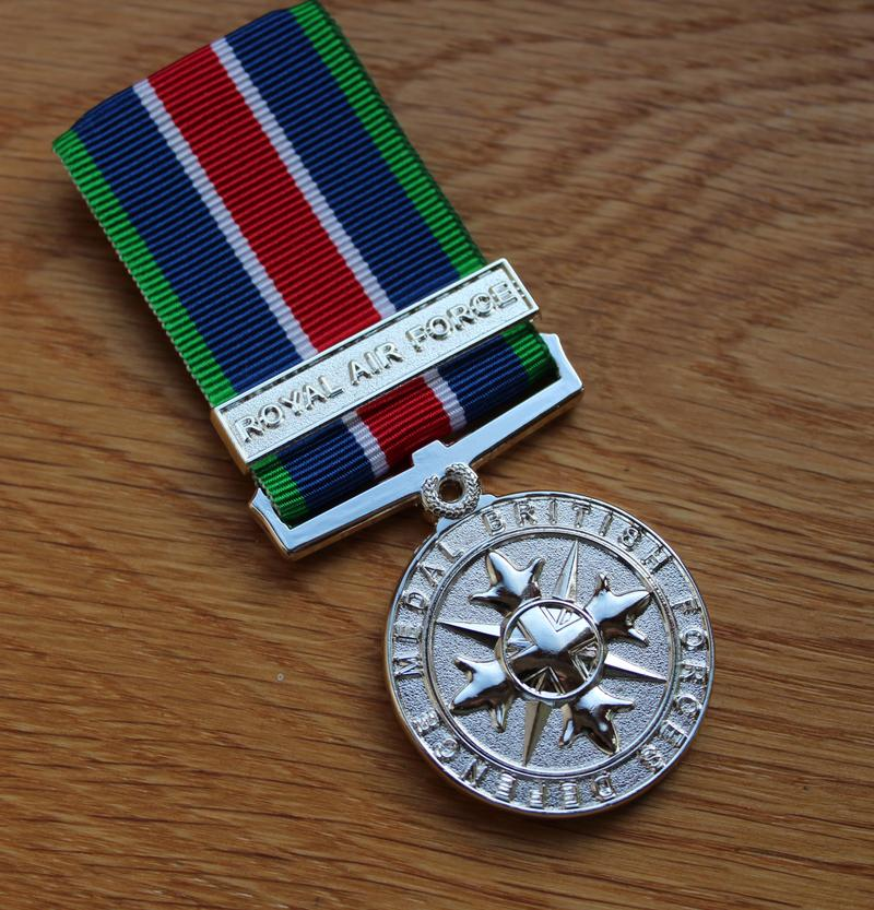 RAF British Forces Defence Miniature Medal