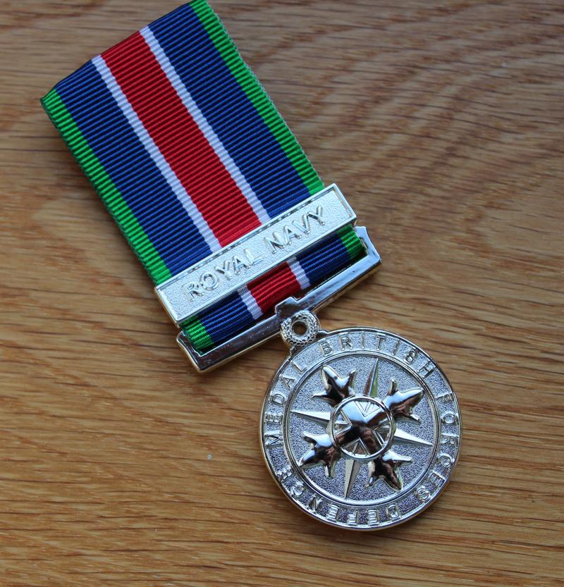 Royal Navy British Forces Defence Miniature Medal