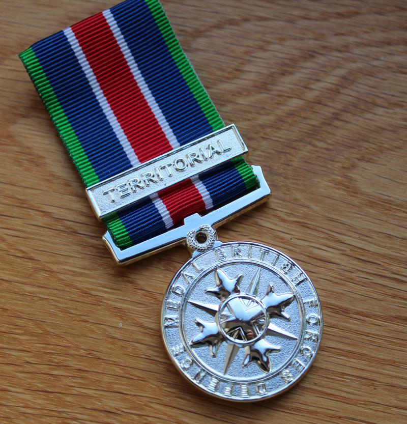 Territorial British Forces Defence Miniature Medal