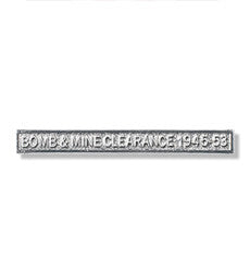 Bomb & Mine Clearance Miniature Clasp