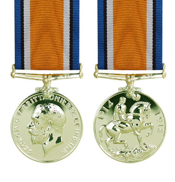British War Medal - Bronze Version