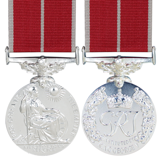 The George VI British Empire Medal