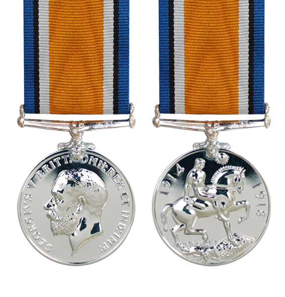 The British War Medal Word War One
