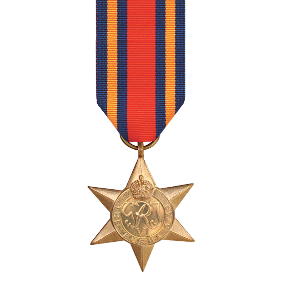 WW2 Burma Star Medal and Ribbon