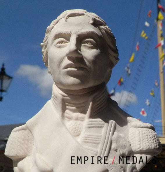Bust of Lord Horatio Nelson