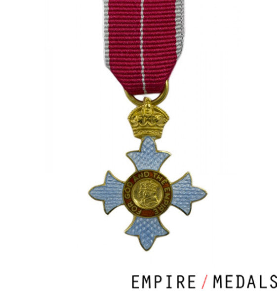 CBE Miniature - Military Award