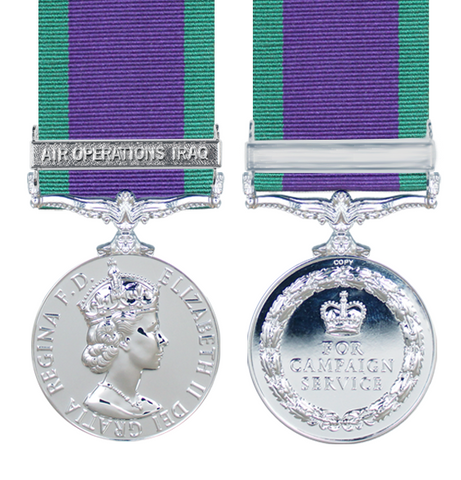 General Service Medals 1962 Onwards