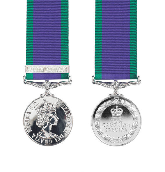 Miniature South Vietnam General Service Medal